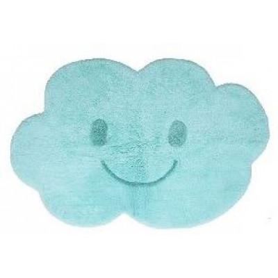 Washable Cotton Rug | Nimbus Blue