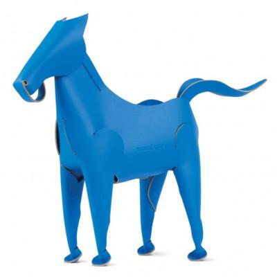 Schreibtischorganisator Pferd | Blau