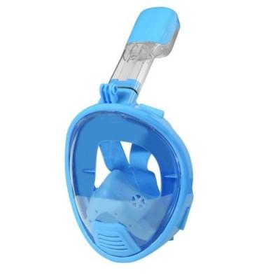Full Face Snorkel Mask for Kids | Blue