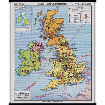Vintage Poster | Britische Inseln