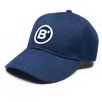 B' Cap Blue   White Patch