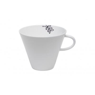 Teacup 60cl Black & White Branch