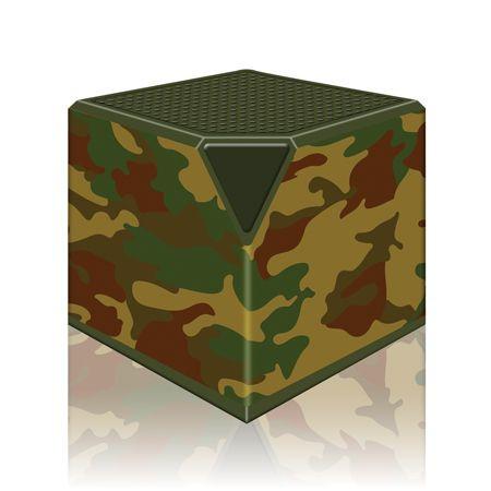 BluCube Lautsprecher | Camouflage