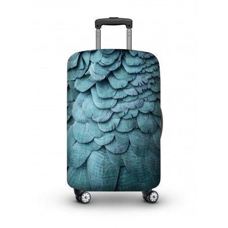 Luggage Cover | Blue Bird