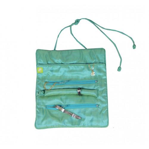 Bliss Jewellery Pouch   Violett/Smaragd