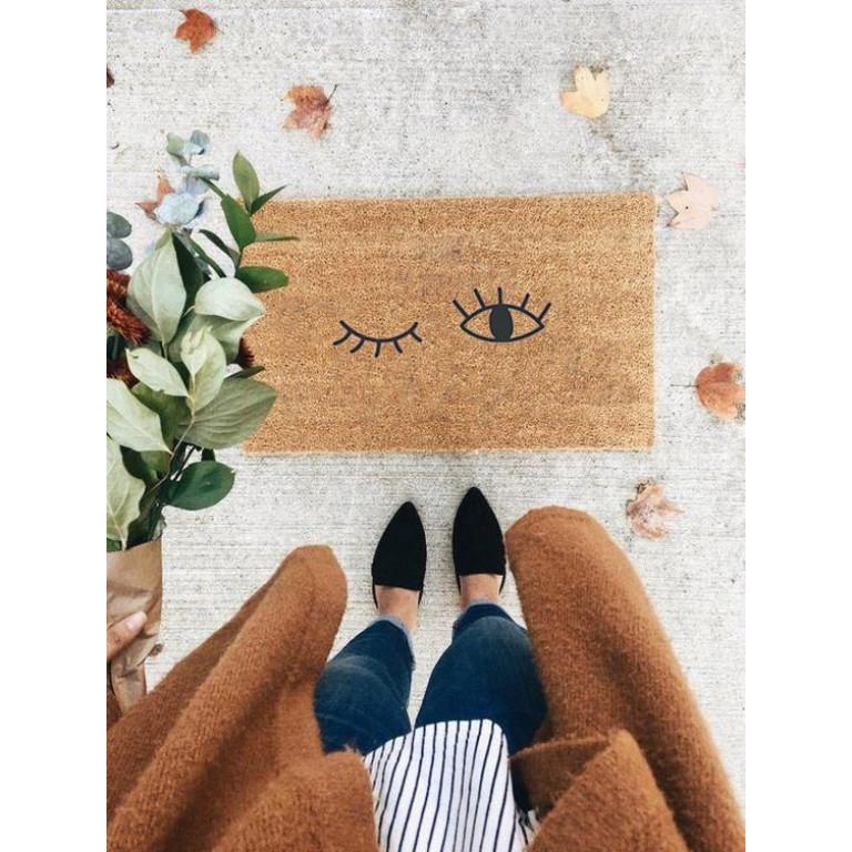 Fußmatte | Blinken