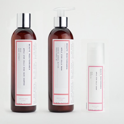 Apple Stem Cells Dyed Hair Products   Set of 3