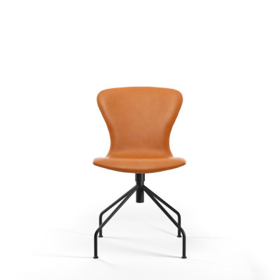 PLAYswing Chair Fully Upholstered Hero Leather | Cognac