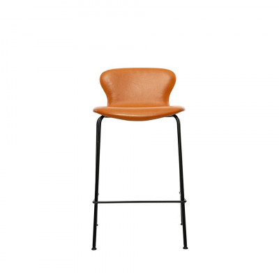 PLAY Chair Counter Hero Leather | Cognac