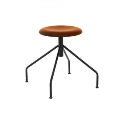 Stool SPIDER Hero Leather | Cognac