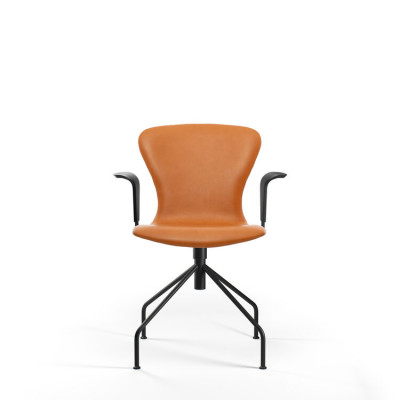 PLAYswing Armchair Fully Upholstred Hero Leather | Cognac