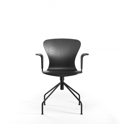 Playswing-Stuhl mit Armlehne   Schwarz