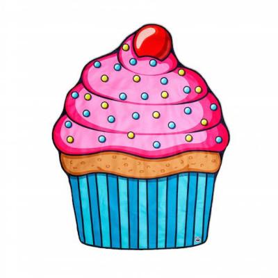 Beach Blanket   Cupcake