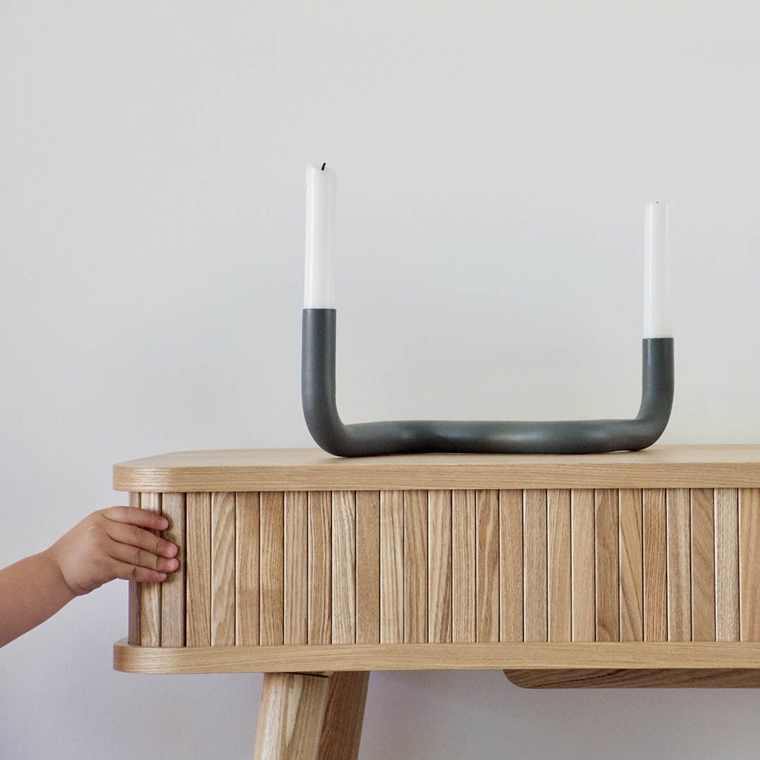Candle Holder Bocht | Really Grey