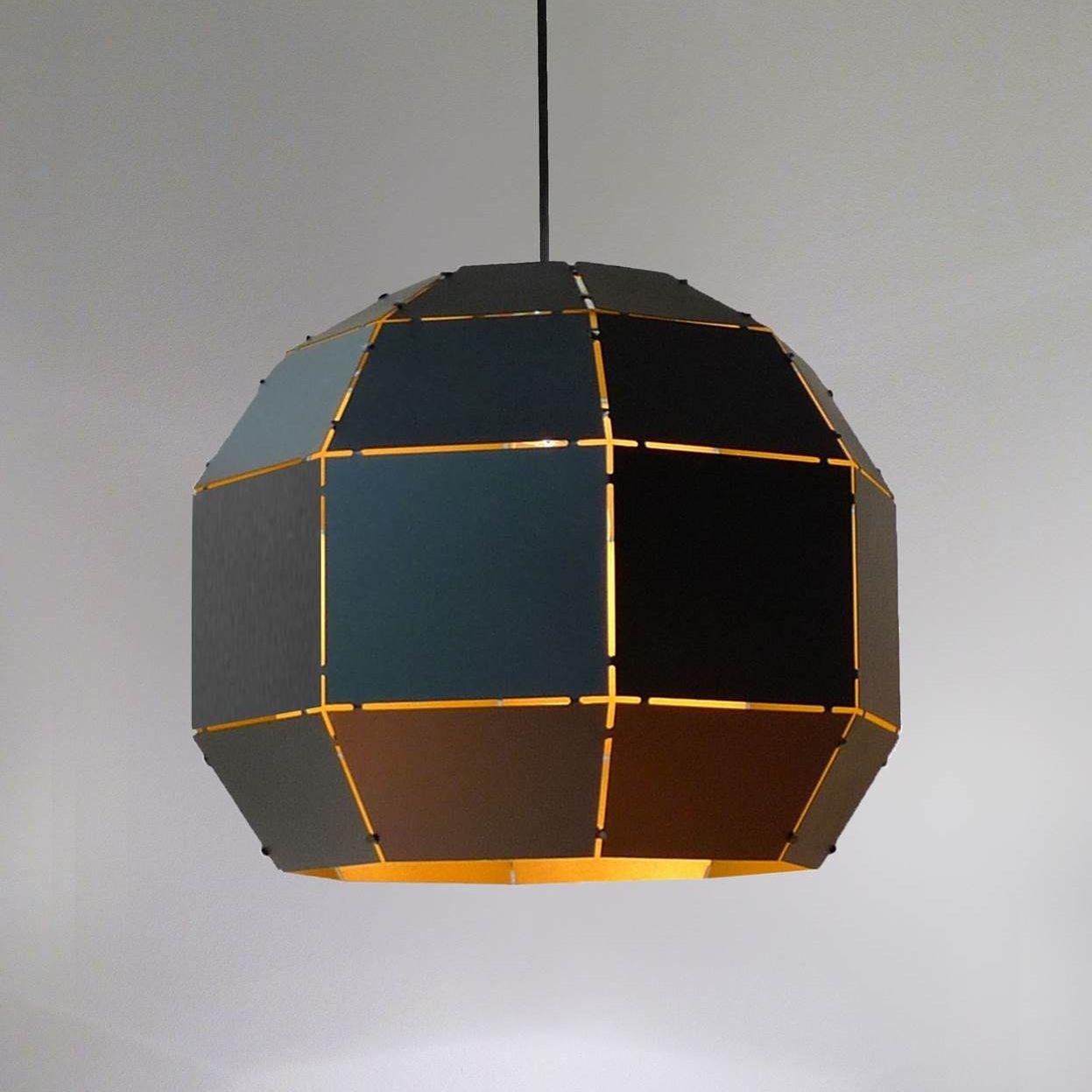 Booom! Lampe   Schwarz & Gold