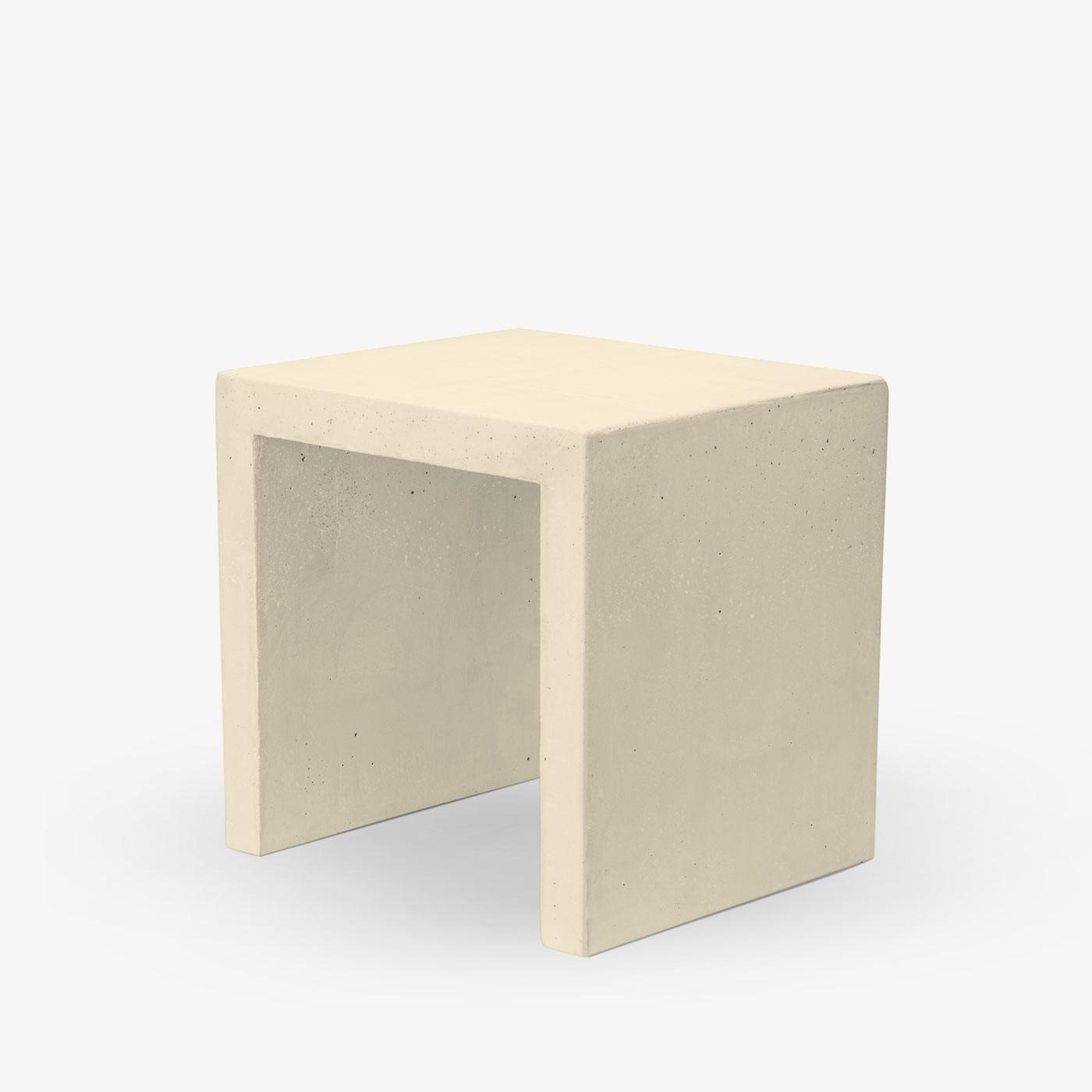 Couchtisch Smooth 40x35x40 cm | Pastellgelb