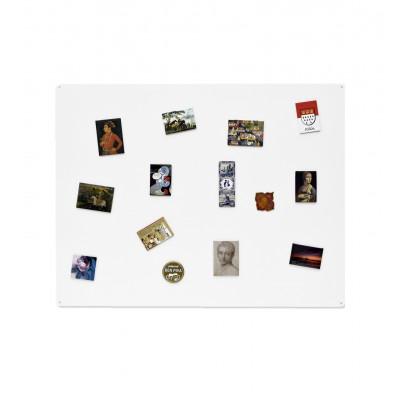 Magnettafel 74 x 57 cm | Weiß