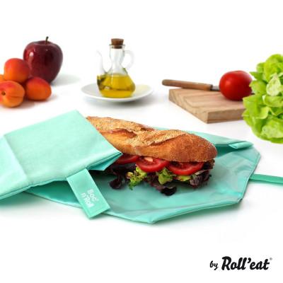 Wiederverwendbare Sandwichverpackung Boc'n'Roll Eco | Mint