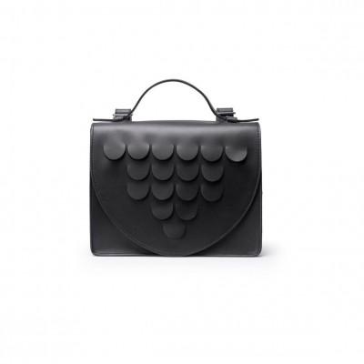 Leather Briefcase | Black