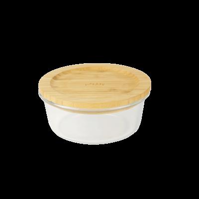 Lagerbehälter mit Bambusdeckel | 520 ml