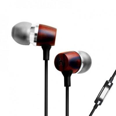 Bon5s All-Nature In-Ear-Stereo-Kopfhörer aus Holz
