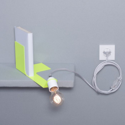 Bookend Lamp | Neon