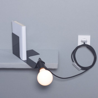 Bookend Lamp | Black
