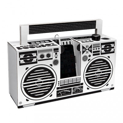 Mobiles Lautsprechersystem Berlin Boombox | Weiß