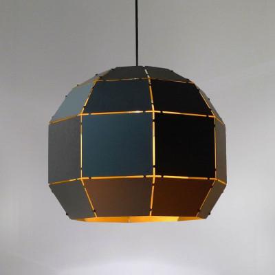 Booom! Lampe | Schwarz & Gold