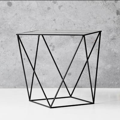 Trigona Side Table | Black & Grey