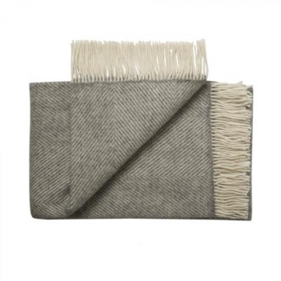 Plaid Bornholm 140 x 240 cm | Grau