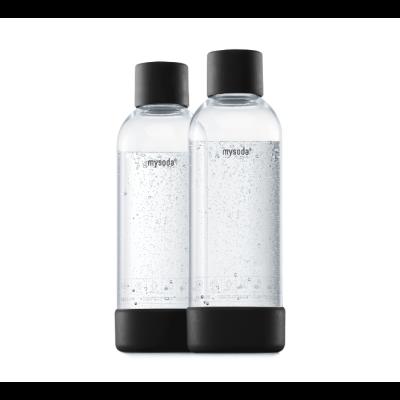 Mysoda 1L Flasche 2 Pack | Schwarz