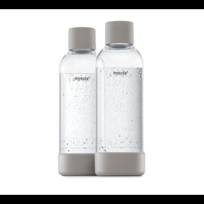 Mysoda 1L Flasche 2 Pack | Grau