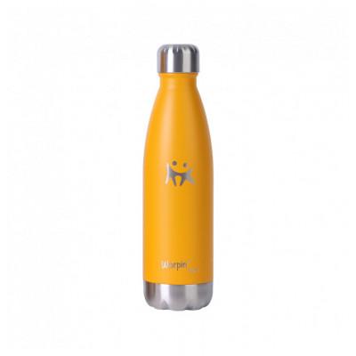 Wasserflasche Edelstahl | Gelb