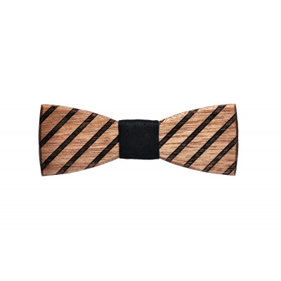 Wooden Bow Tie Buteo