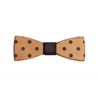 Wooden Bow Tie Dolo