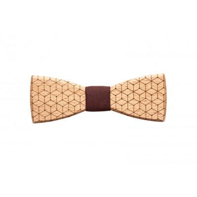 Wooden Bow Tie Virineo