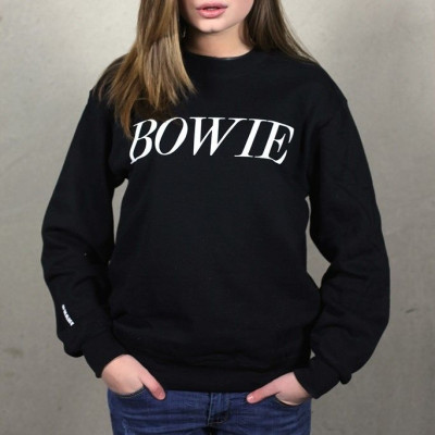 Bowie Tribute Sweater | Black & White