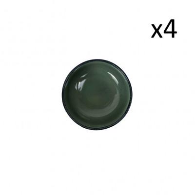 Schüssel Habuza Ø 14 cm 4er-Set | Blau