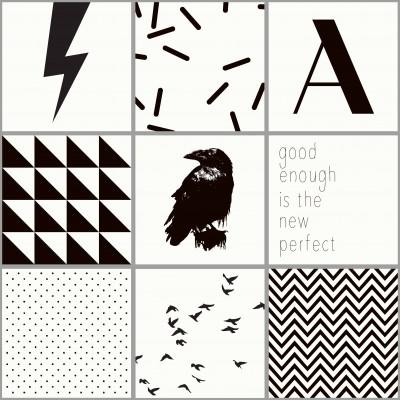 Kachelaufkleber | Vögel Boxset