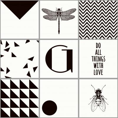 Kachelaufkleber | Insekten Boxset