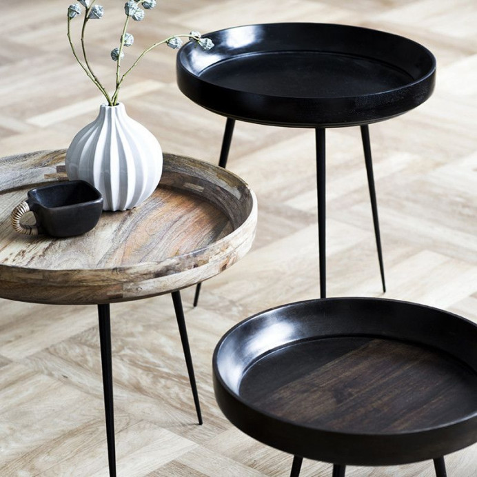 Tisch Bowl   Grau