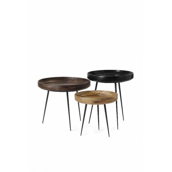Bowl Table   Black
