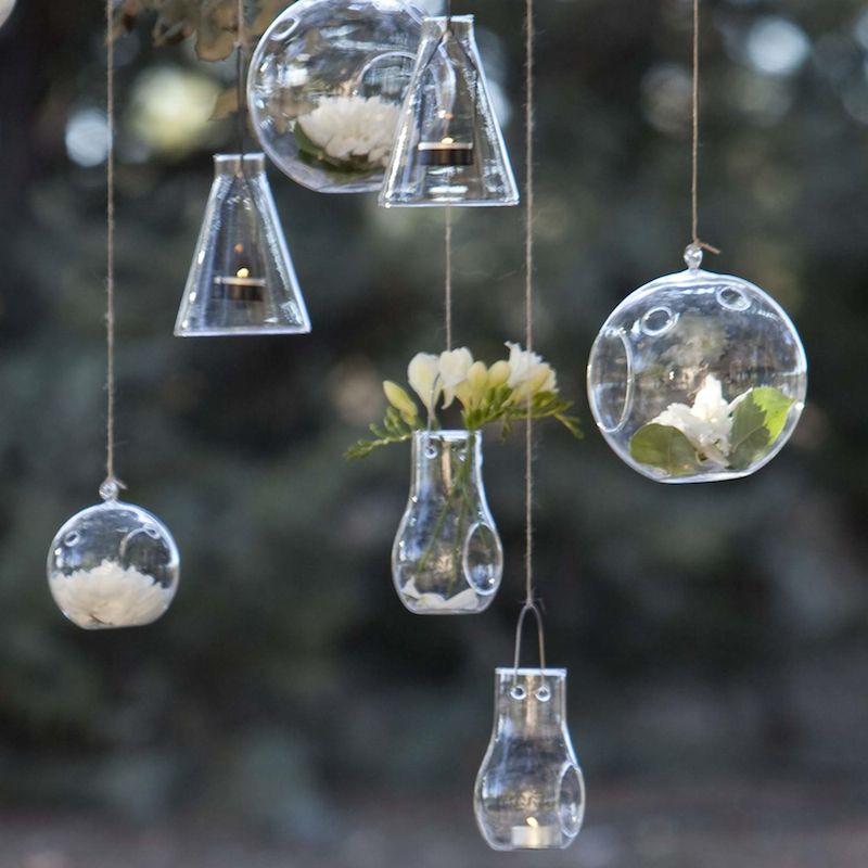 Glas-Hängekerzenhalter | Krug