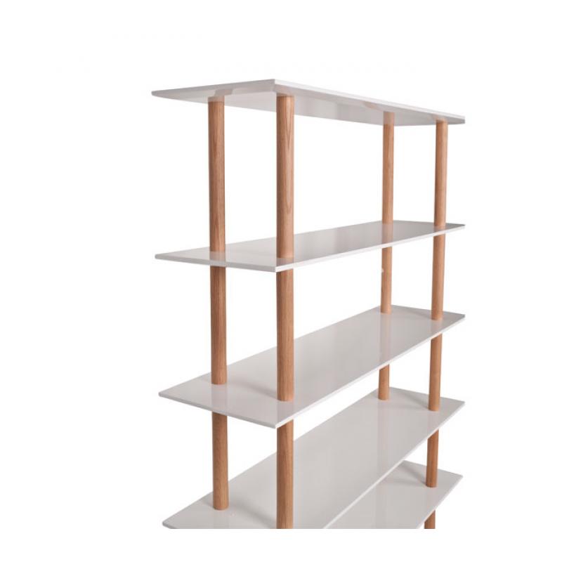 High On Wood Book Shelf