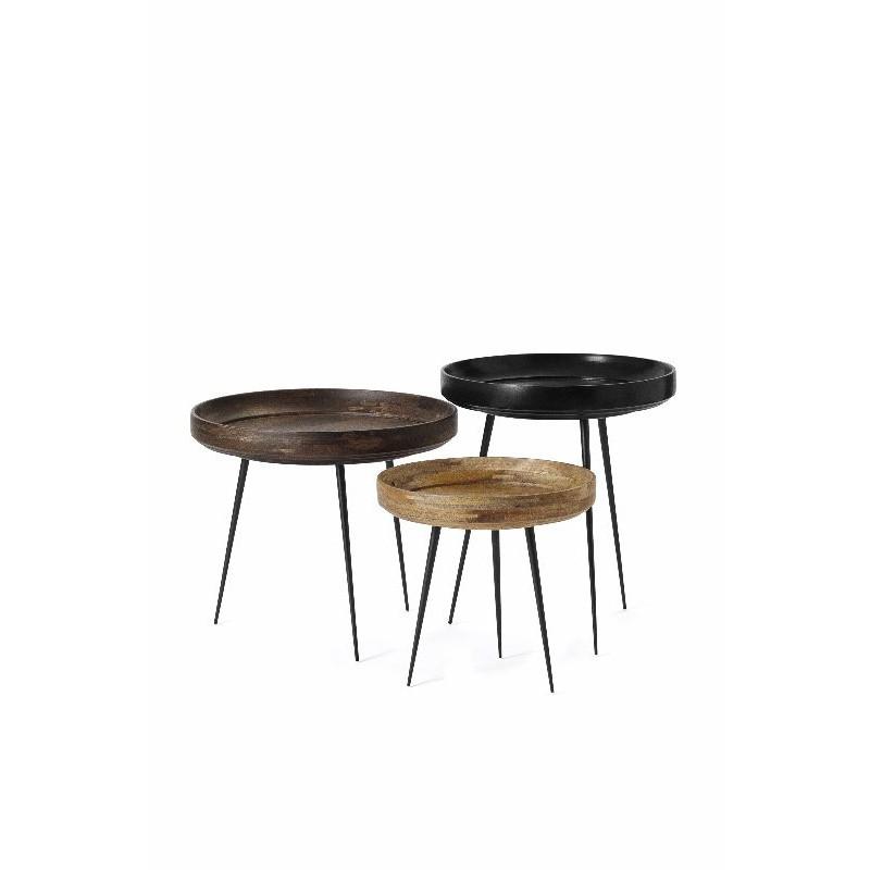 Bowl Table Extra Large   Black