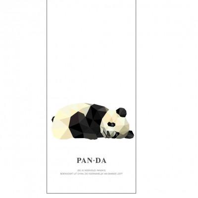 Wallpaper Poster Geometric Wildlife | Panda