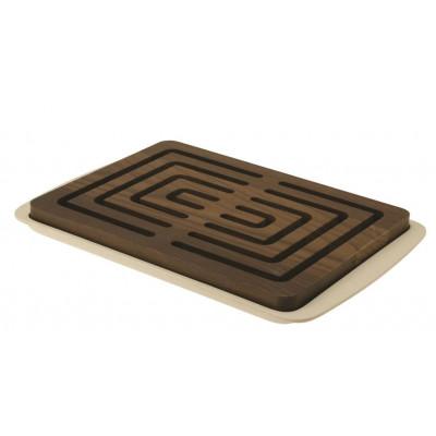 Brotschneidebrett Vitto | Dunkles Holz