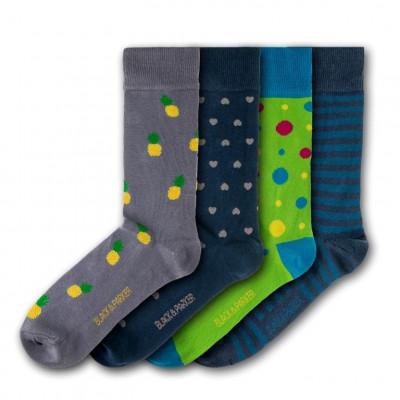 Unisex-Socken Trelissick Garden   4 Paare