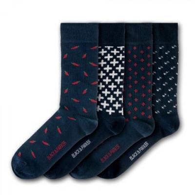 Unisex-Socken Levens Hall | 4 Paare
